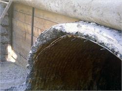 Пример разрушенного коллектора. Фото №3