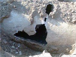 Пример разрушенного коллектора. Фото №4