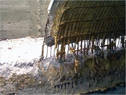 Пример разрушенного коллектора. Фото №6