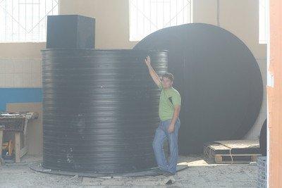 Подземные пластиковые емкости для воды