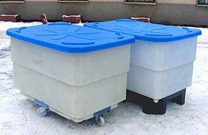 Емкости для хранения и переработки пищевых продуктов